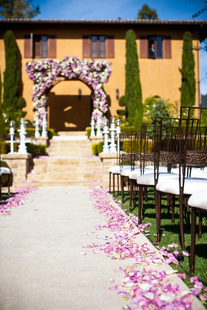 Villa Cascata Garden Ceremony