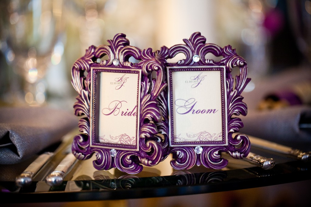 Framed Place Cards