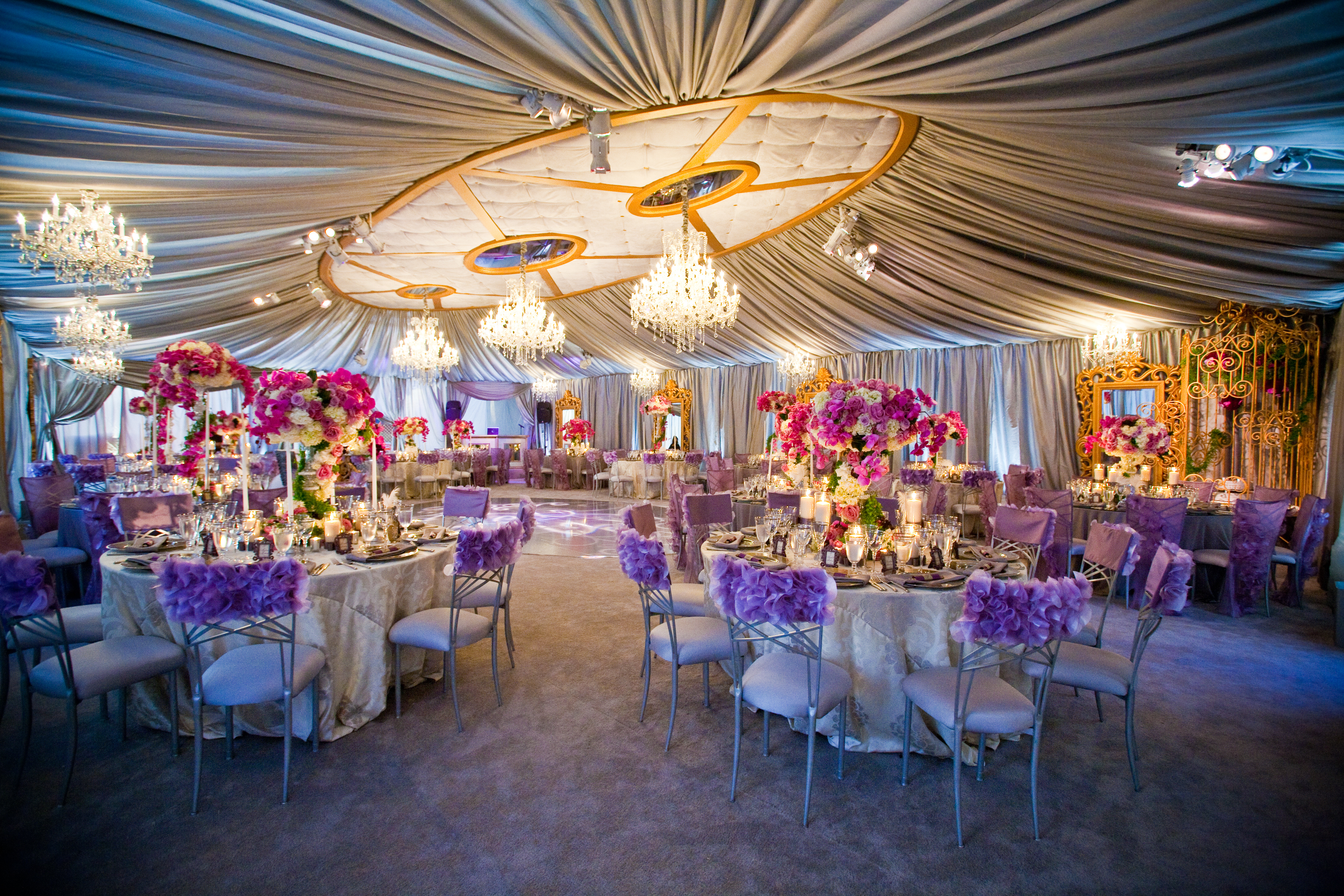 reception events weddings luxury gold event designs ceiling tent silver bride venue decorations decoration engagement ghana planner business chandeliers ceremony