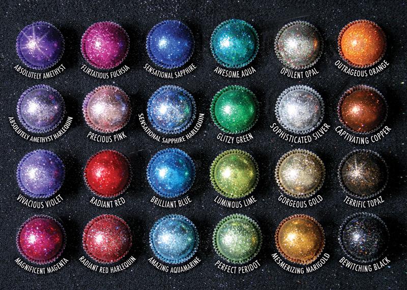 Color/Flavor Chart