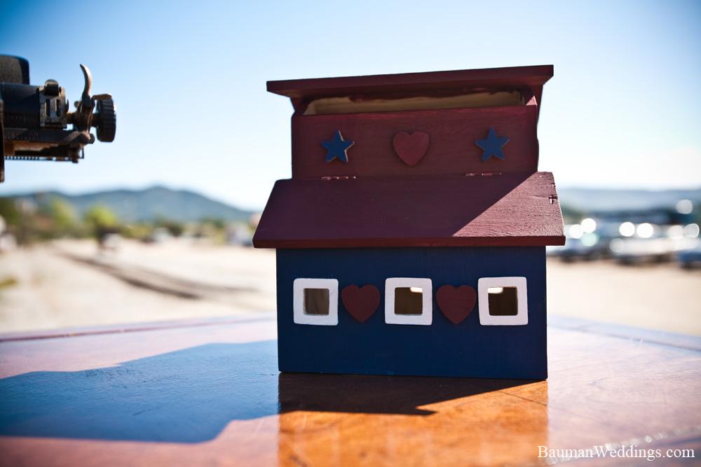 hand painted barn box