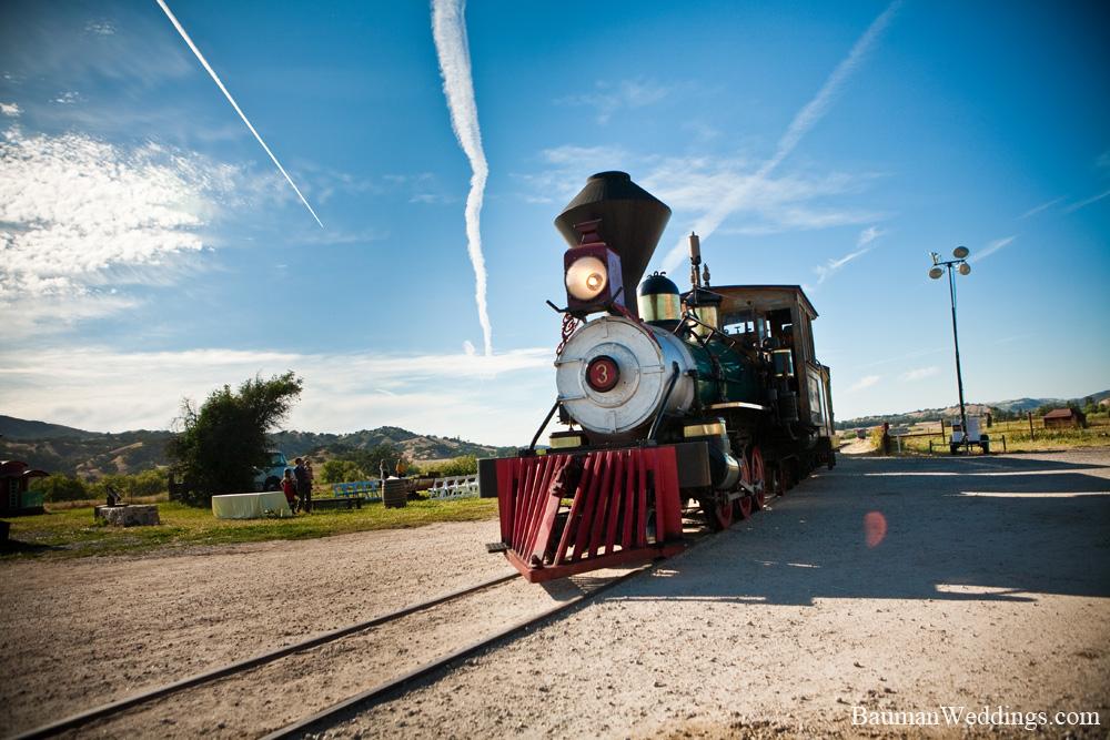 Wedding Steam Train