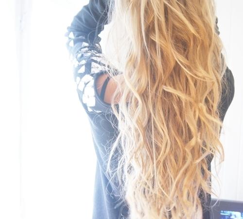 waves in hair
