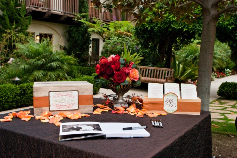 Wedding Ceremony Table
