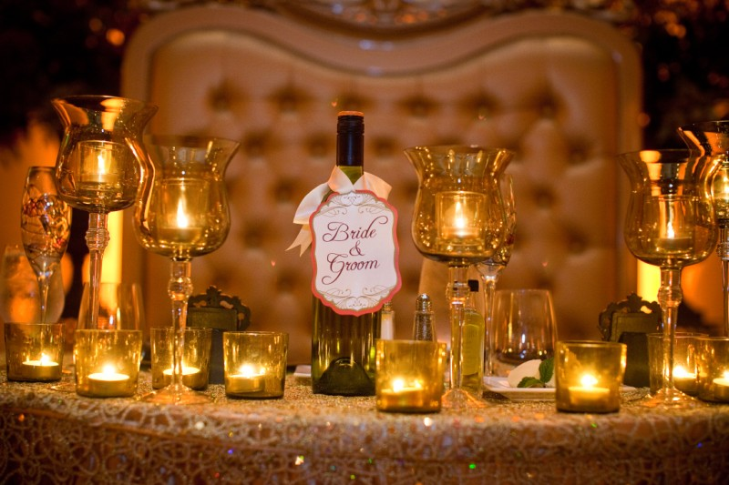 Sweetheart table number