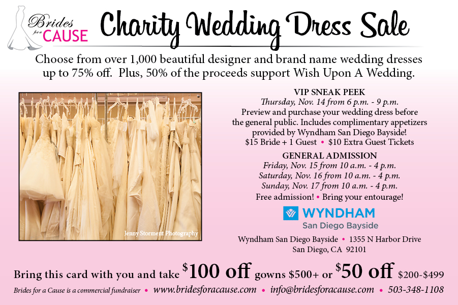 SD Dress Sale Nov 14-17